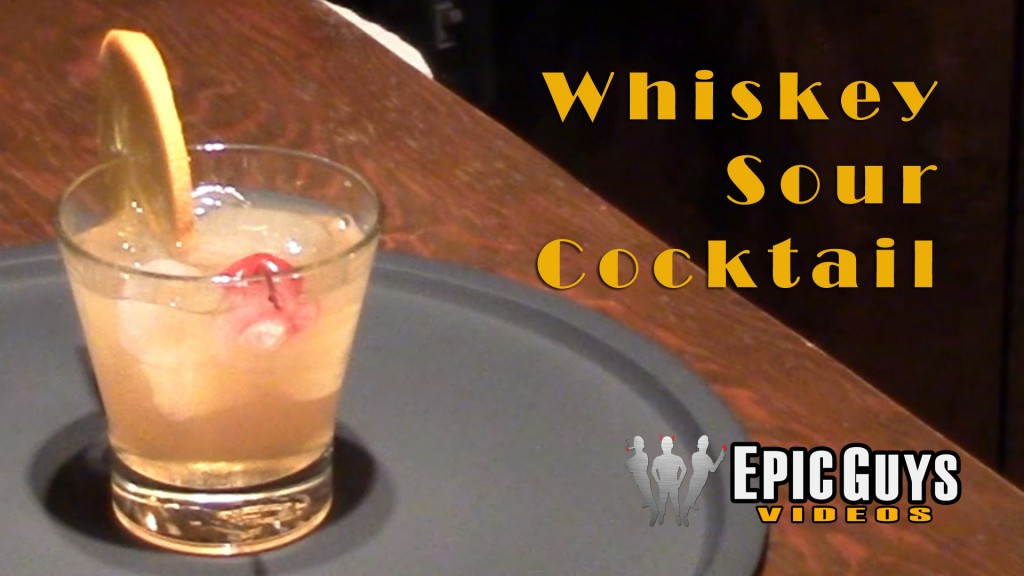 The Best Whiskey Sour Cocktail Recipe