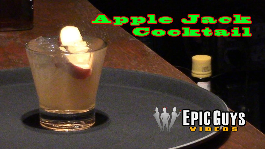 AppleJack Cocktail Recipe  – Epic Guys Bartending