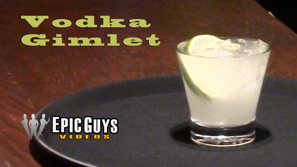 Vodka Gimlet Cocktail Recipe