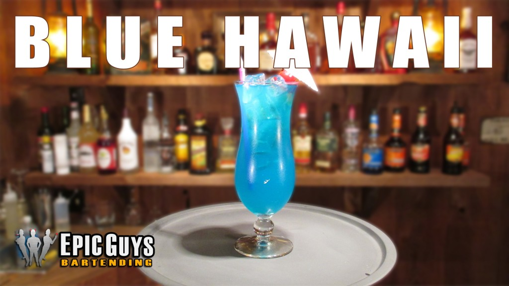 How to make a Blue Hawaii Cocktail