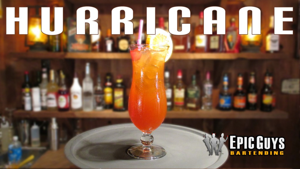 How to make a Hurricane Cocktail