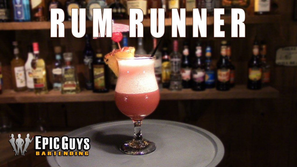 How To Make A Rum Runner Cocktail | Epic Guys Bartending